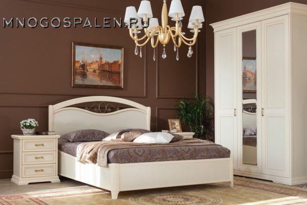 Спальня Симона купить в салоне-студии мебели Барселона mnogospalen.ru много спален мебель Италии классические современные