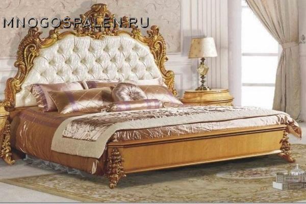 Cпальня Клеопатра 3901D купить в салоне-студии мебели Барселона mnogospalen.ru много спален мебель Италии классические современные