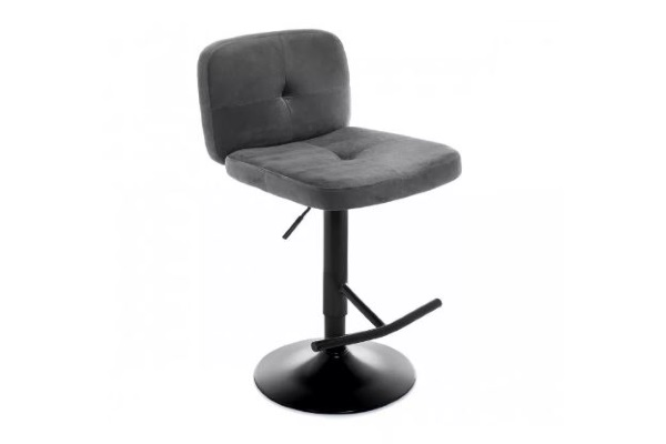 Барный стул Hoom серый купить в салоне-студии мебели Барселона mnogospalen.ru много спален мебель Италии классические современные