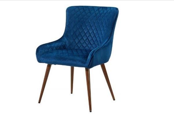 Стул 9-19M BLUE купить в салоне-студии мебели Барселона mnogospalen.ru много спален мебель Италии классические современные
