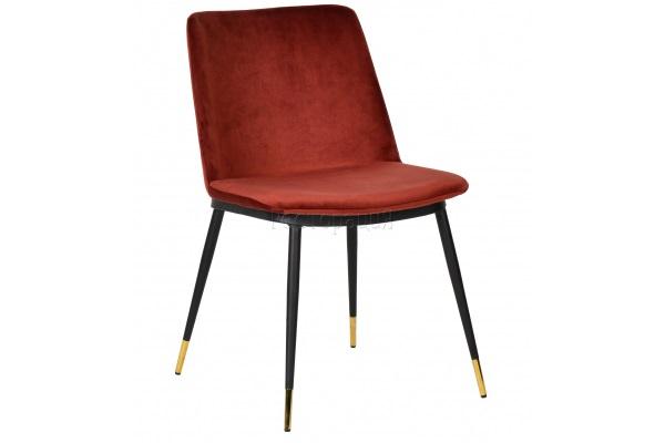 Стул Jagger brick red купить в салоне-студии мебели Барселона mnogospalen.ru много спален мебель Италии классические современные