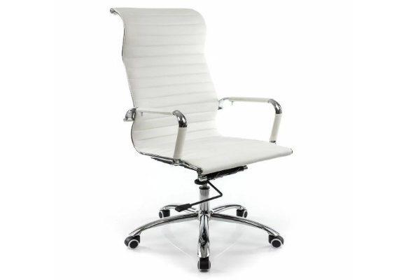 Компьютерное кресло Rota белое купить в салоне-студии мебели Барселона mnogospalen.ru много спален мебель Италии классические современные
