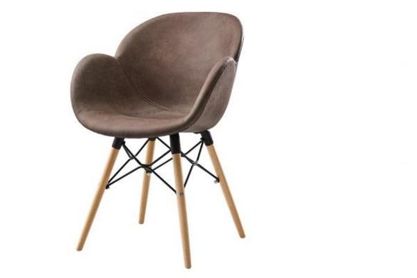 Стул FL-08WNPS BROWN купить в салоне-студии мебели Барселона mnogospalen.ru много спален мебель Италии классические современные