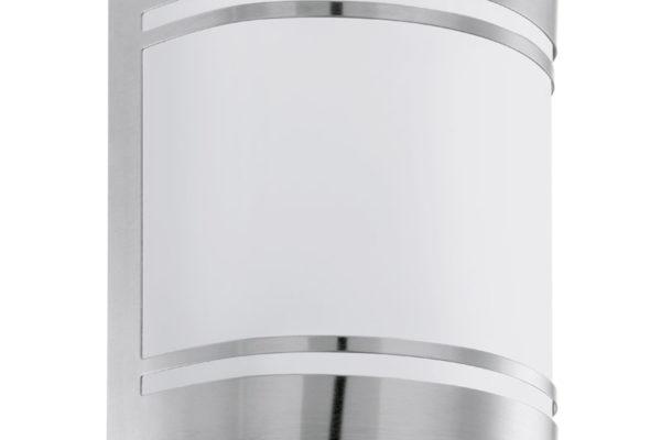 30191 Уличный светильник настенный CERNO, 1х40W(E27), нерж. сталь/матовое стекло купить в салоне-студии мебели Барселона mnogospalen.ru много спален мебель Италии классические современные