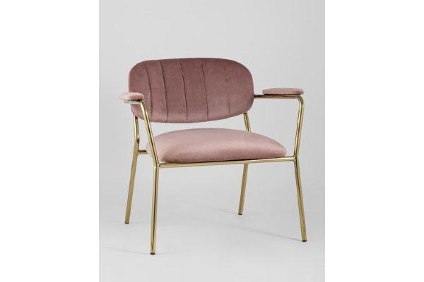 Кресло Кэрол, пыльно-розовый купить в салоне-студии мебели Барселона mnogospalen.ru много спален мебель Италии классические современные